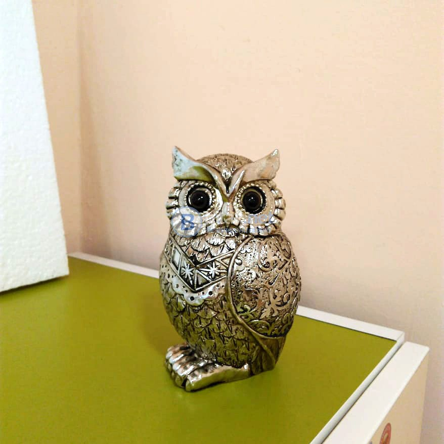 Сувенир Бухал статуетка декорация за дом офис бюро идея за подарък