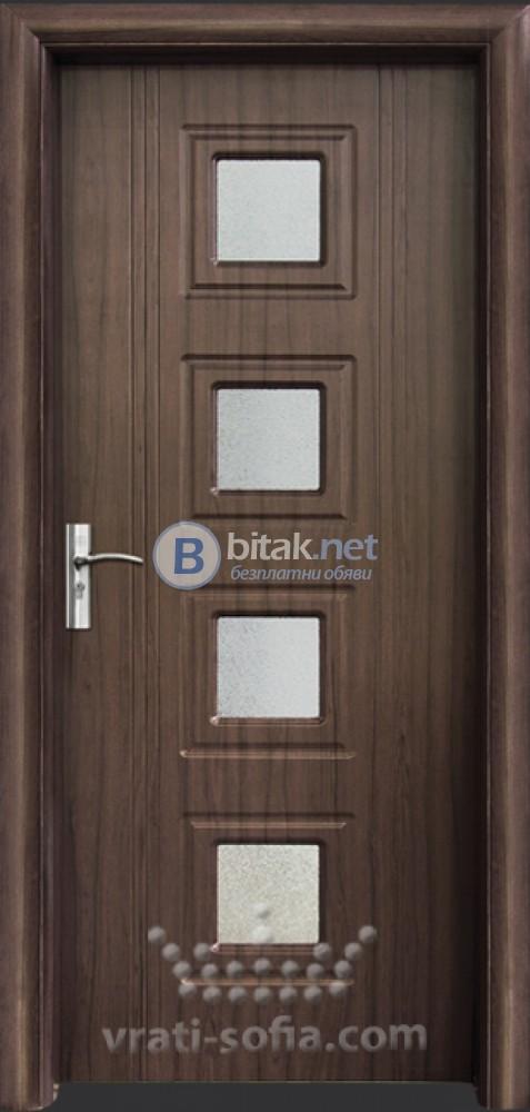 Интериорна HDF врата с код 021