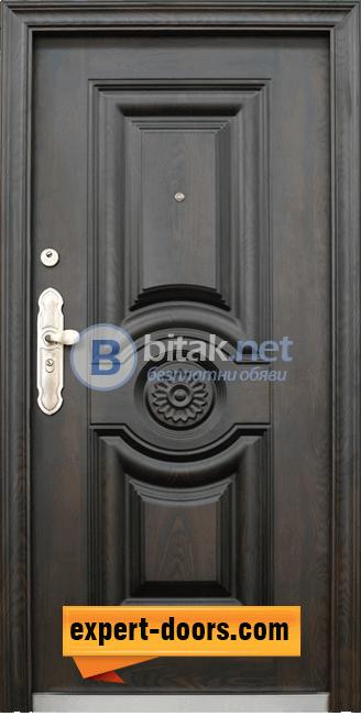 Блиндирана входна врата за къща модел 539