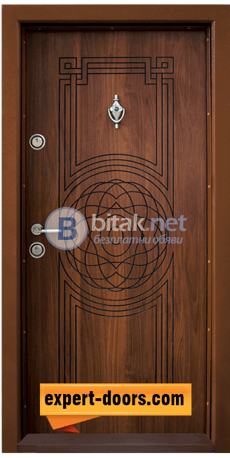 Блиндирана входна врата модел Т 110- 499лв